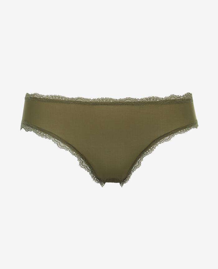Culotte taille basse Vert oasis Take away