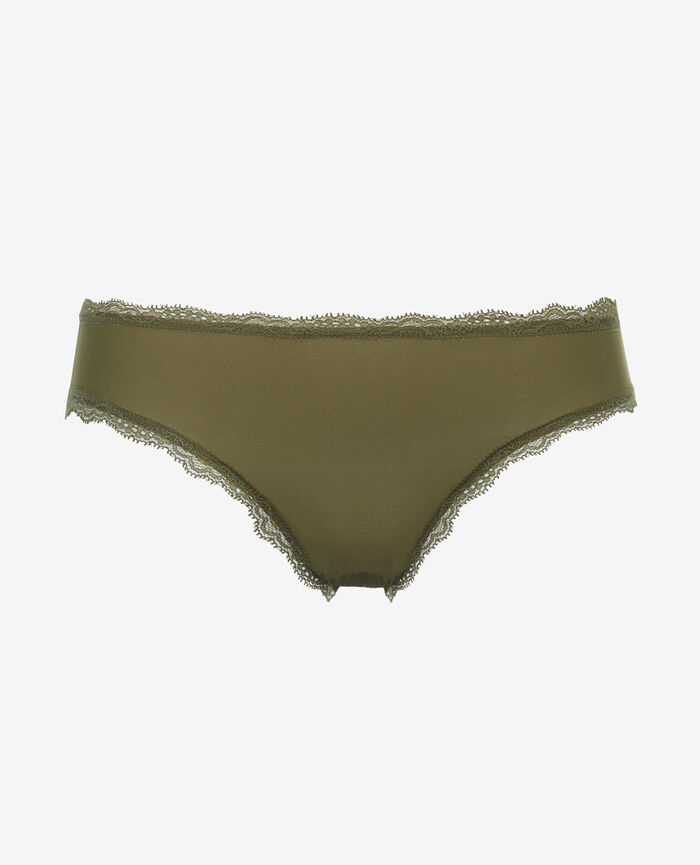 Culotte taille basse Vert oasis Take away