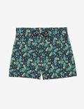 Short de pyjama Fleur bleu marine Tamtam shaker