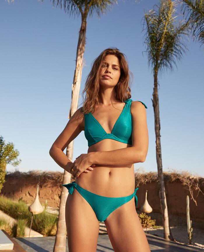 Culotte de bain bikini Vert aquatique Reve