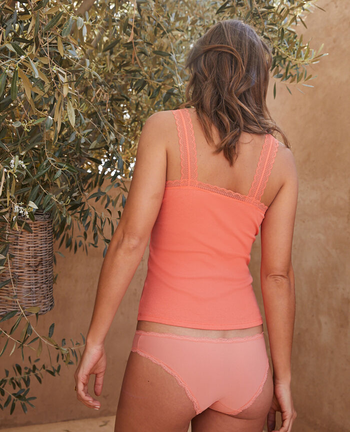 Culotte taille basse Rose poupée Take away