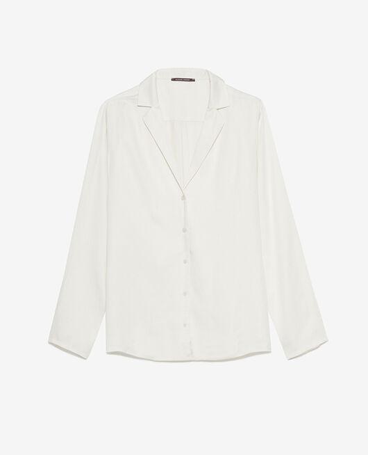 Pyjama jacket Rose white Attitude