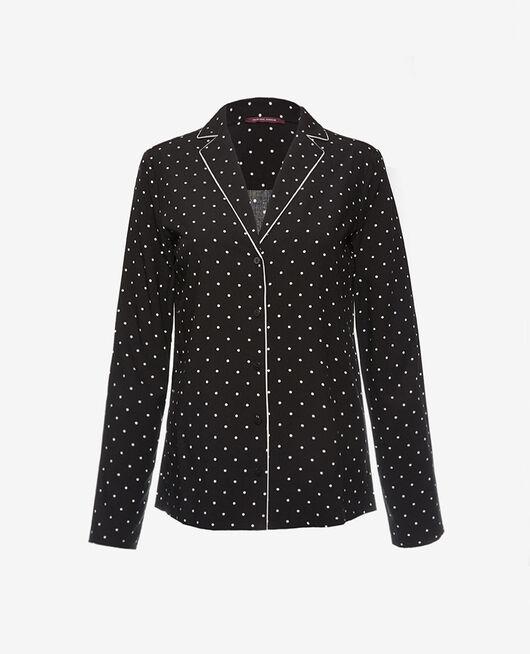 Veste de pyjama Dots noir Constellation