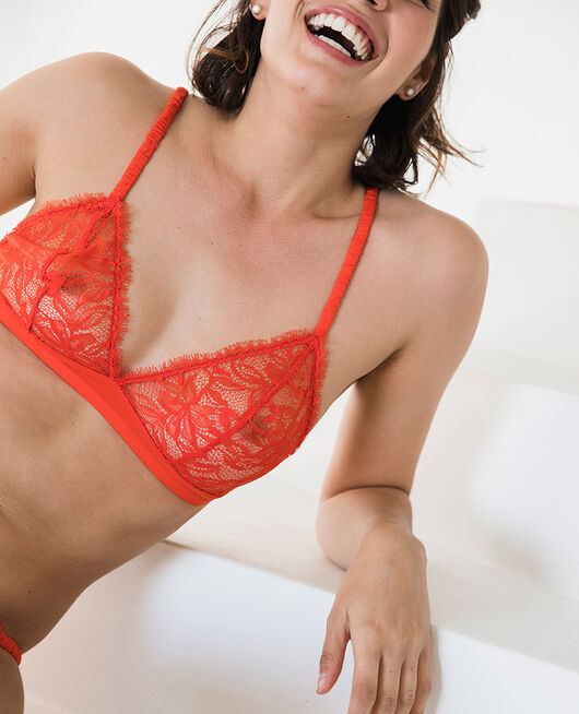 Soft cup bra Pamela red Epice