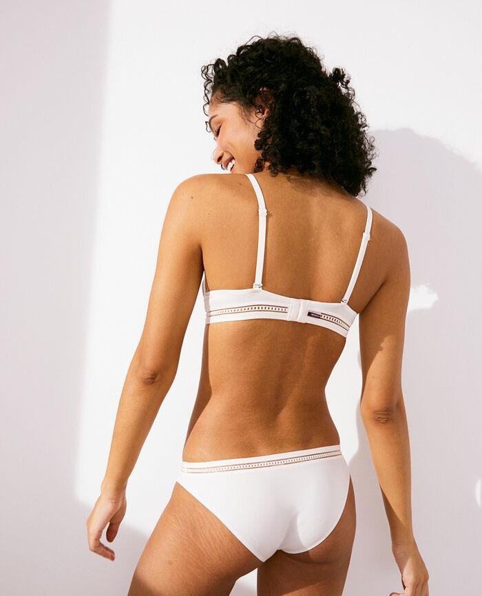Soutien-gorge sans armatures paddé Blanc rosé Air lingerie