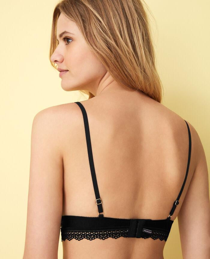 Soutien-gorge sans armatures Noir Air lingerie