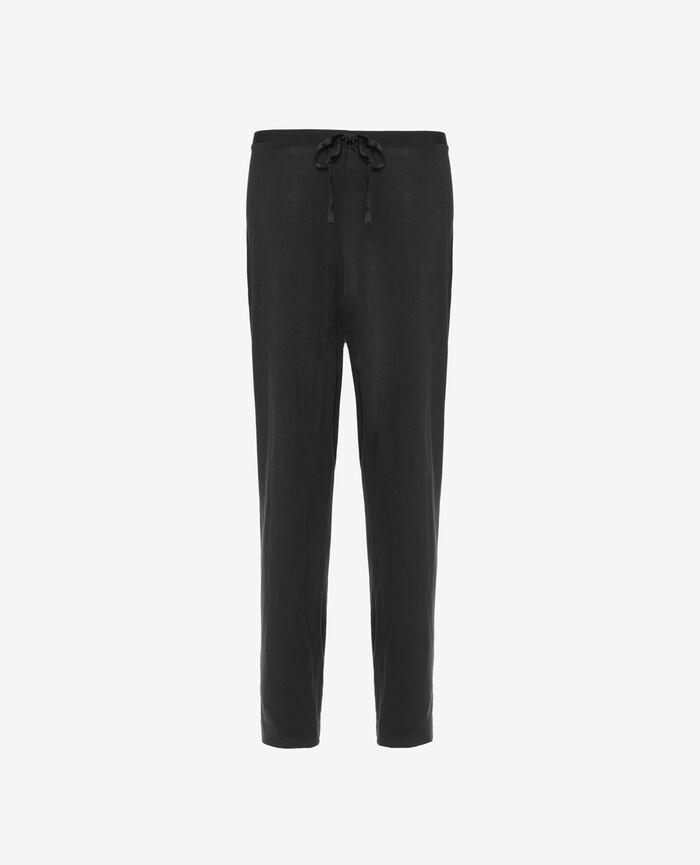 Pantalon de pyjama Noir Douceur