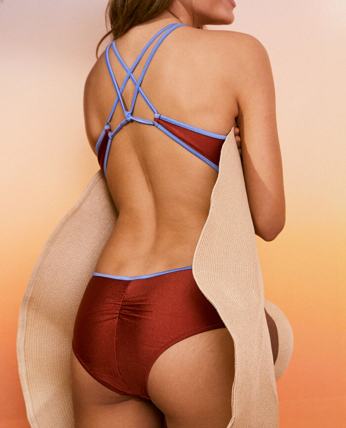 Swimsuit Nalin brick Vacanze
