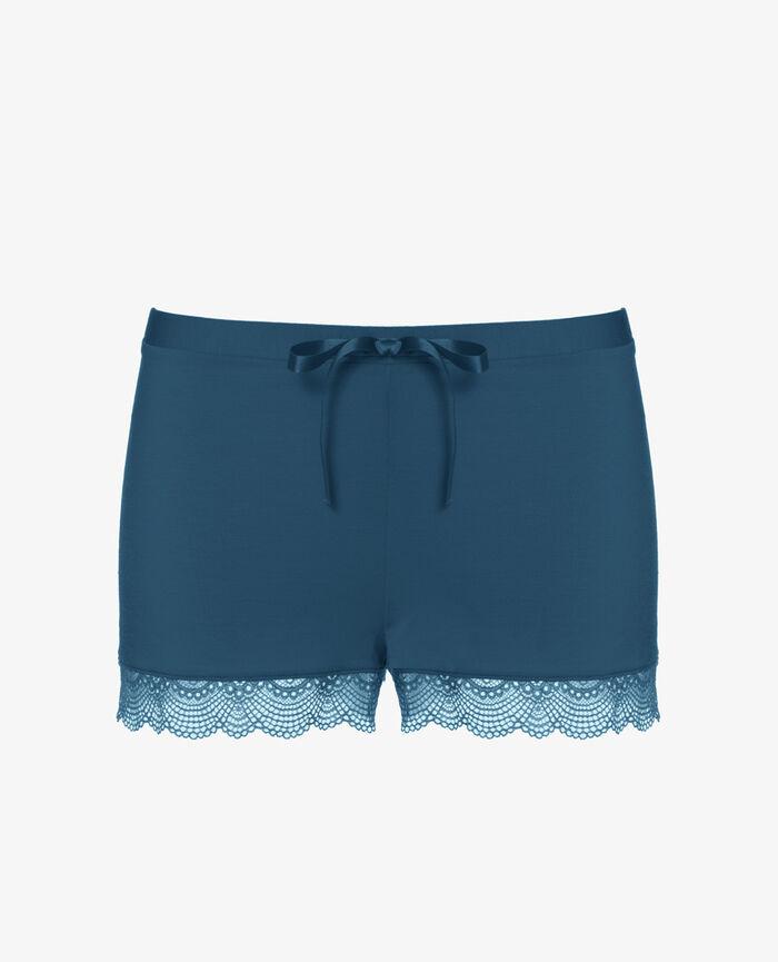 Short de pyjama Bleu sombrero Flora