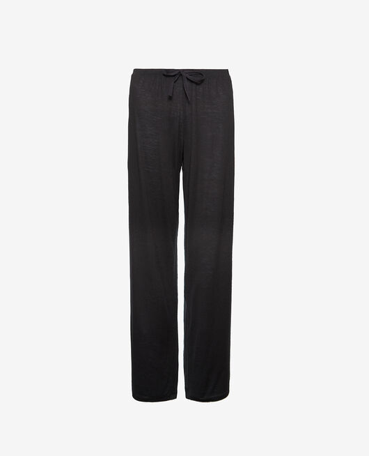 Pyjama trousers Black Latte organic