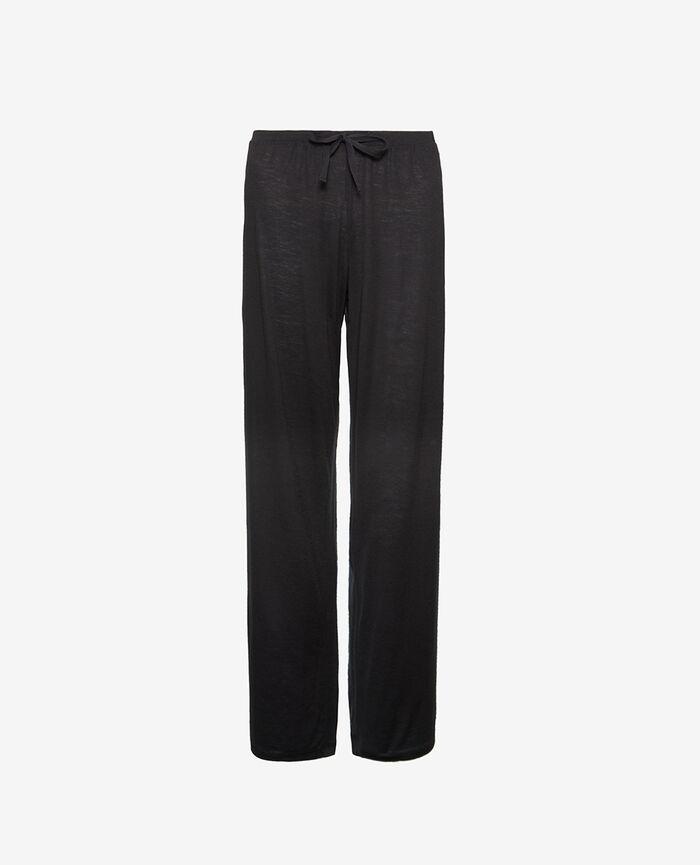 Pantalon de pyjama Noir Latte organic