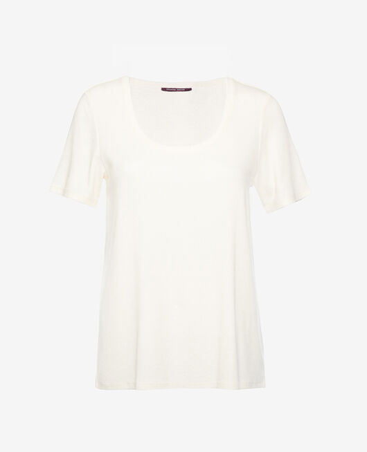Short-sleeved t-shirt Rose white Dimanche