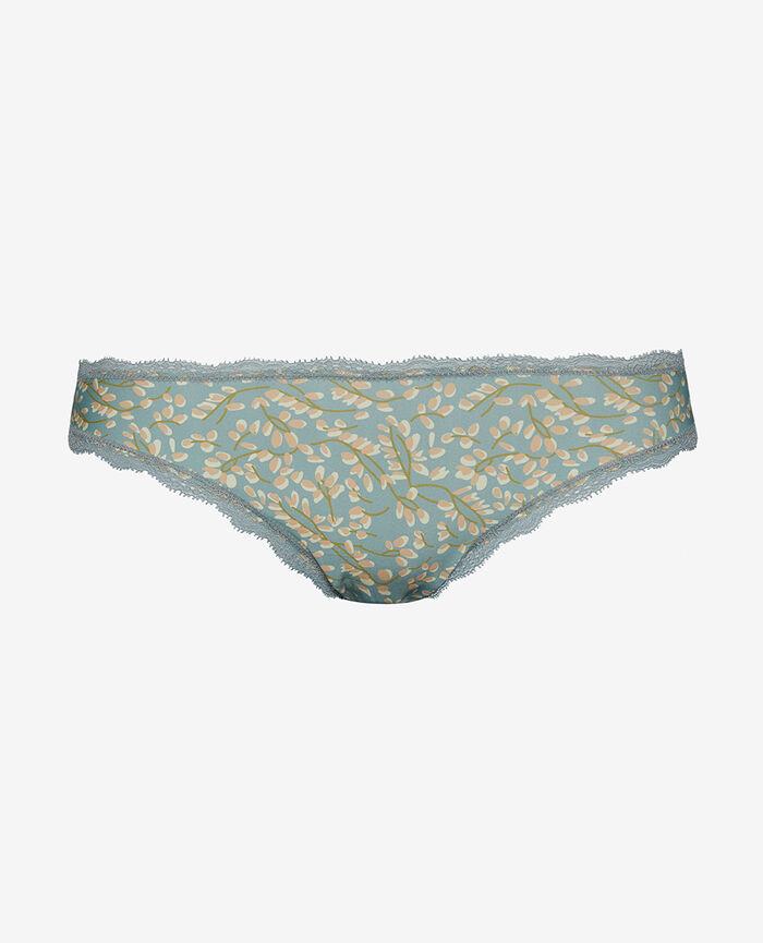 Culotte taille basse Glycine vert amande Take away