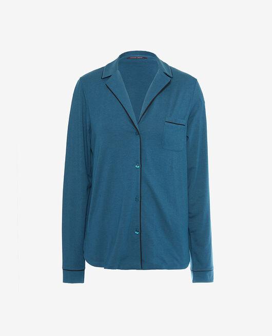 Pyjama jacket Jazz blue Dimanche