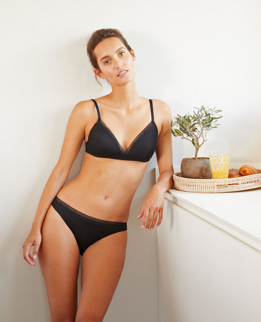 Hipster briefs Black Cosy