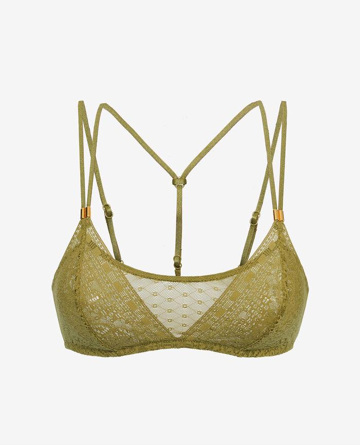Soft cup bra Oasis green Atlas
