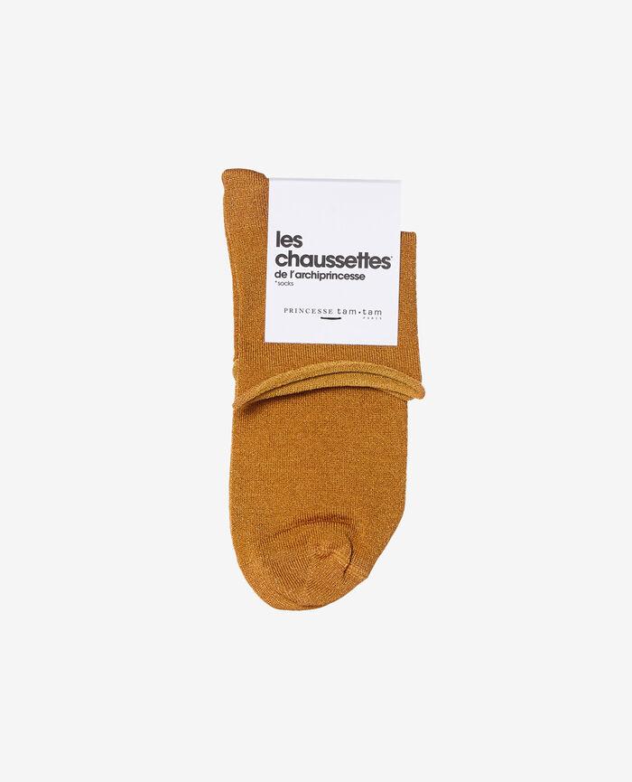 Socks Taxi yellow Pearl