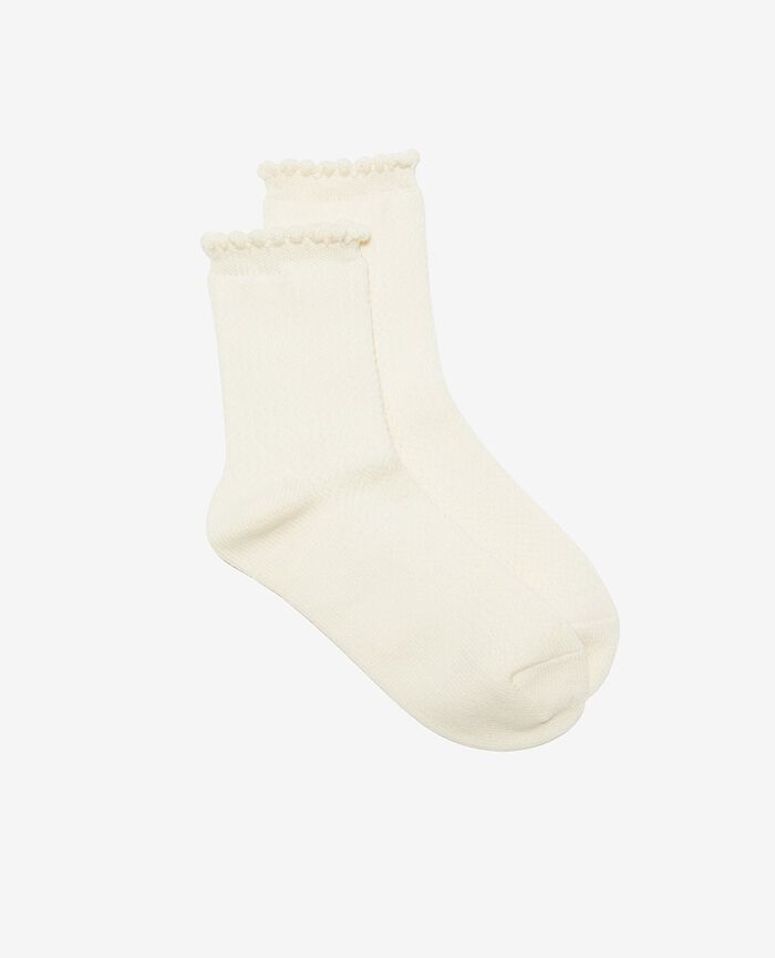 Socks Rose white Ballet