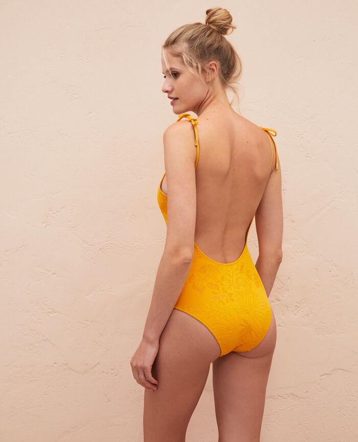 Swimsuit Sahara yellow Gueliz
