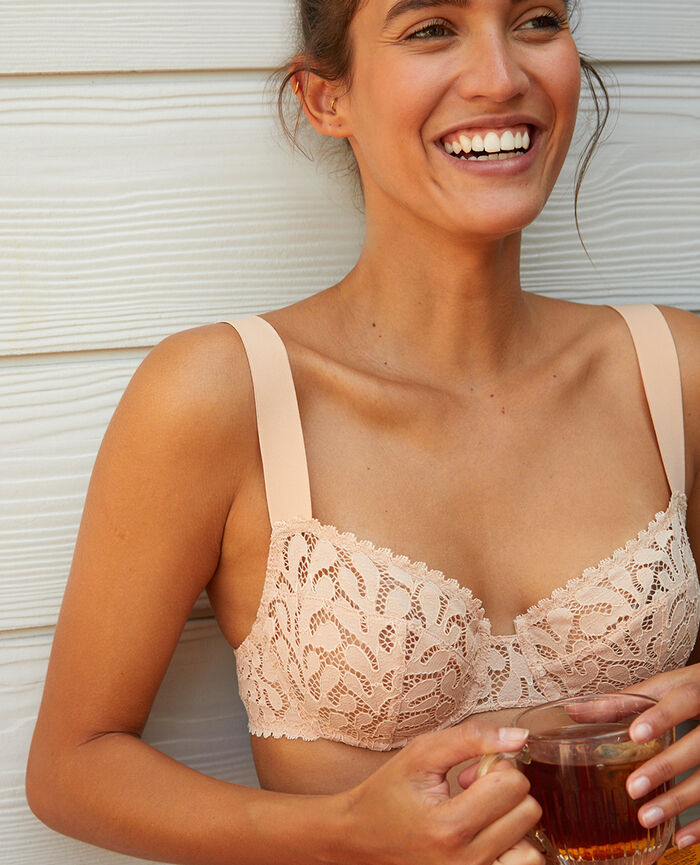 Half-cup bra Powder Oisive