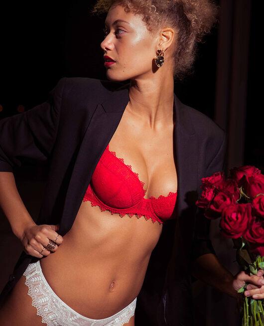 Soutien-gorge push-up mousses Rouge idole Amour