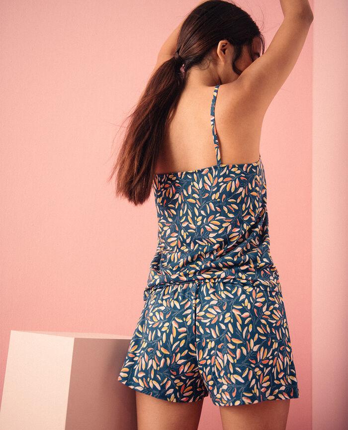 Short de pyjama Brindille bleu transat Tam tam shaker