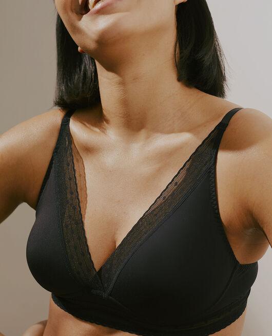 Wireless bra Black Infiniment