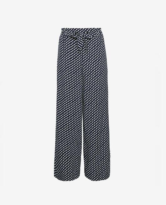 Pantalon Confettis bleu marine Lounge viscose