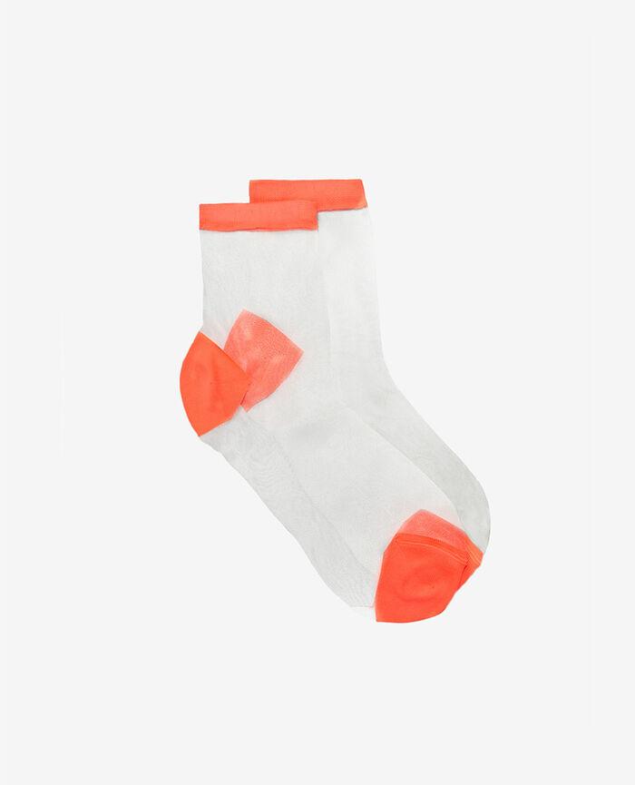 Chaussettes Orange fluo Danseuse