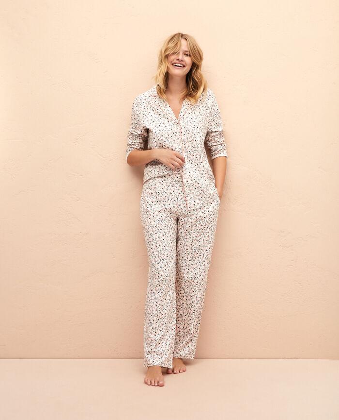 Pyjama set Ivory holly Princesse tam.tam x uniqlo