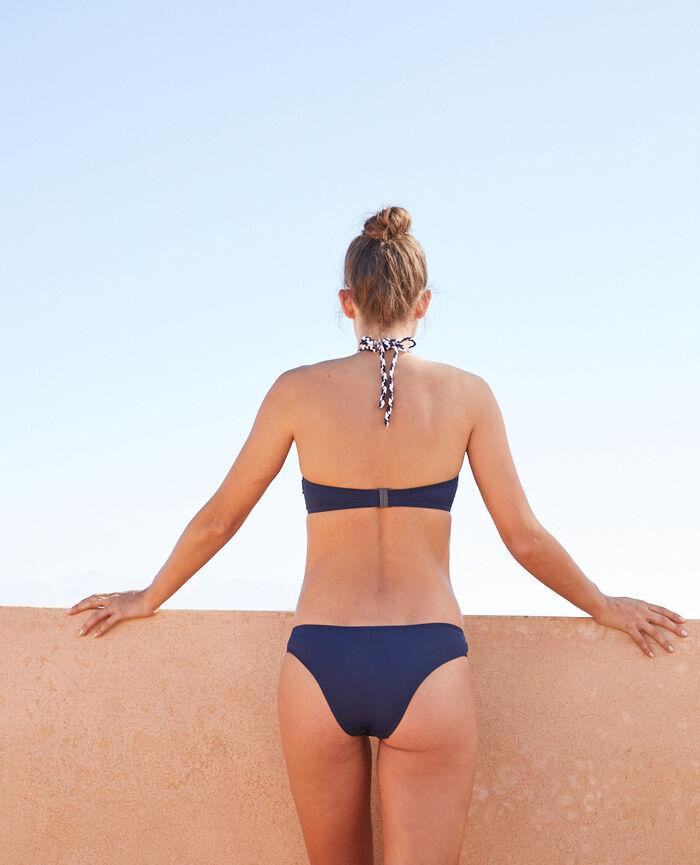 Brazilian bikini shorts Midnight blue Natte