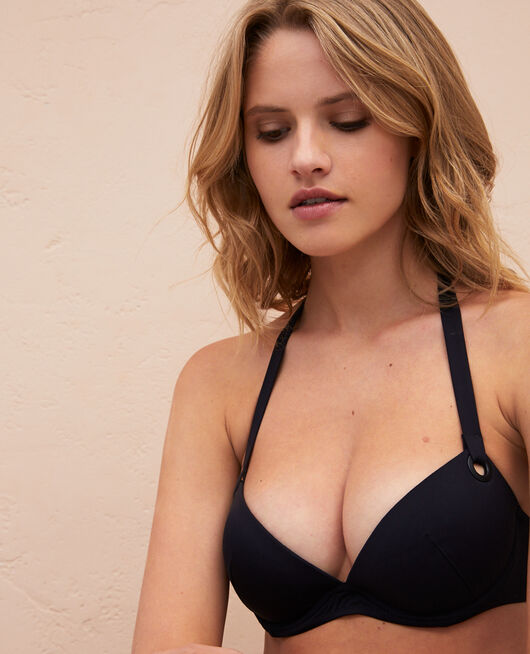 Maillot de bain push-up Noir Impala