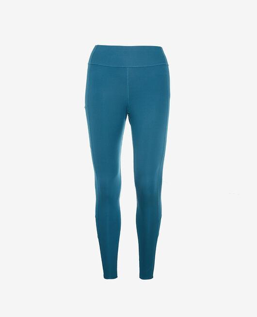 Legging de running galbant long Bleu jazz Run