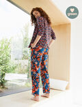 Trousers Margerite brown Crepuscule