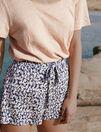 Short de pyjama Paquerette bleu marine Tam tam shaker