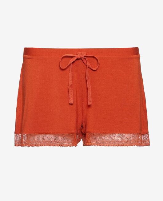 Pyjama shorts Terra cotta Douceur