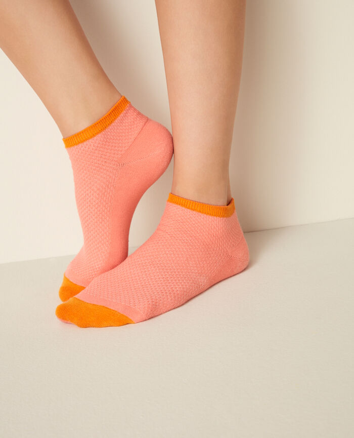 Chaussettes de sport Pamplemousse rose Socks