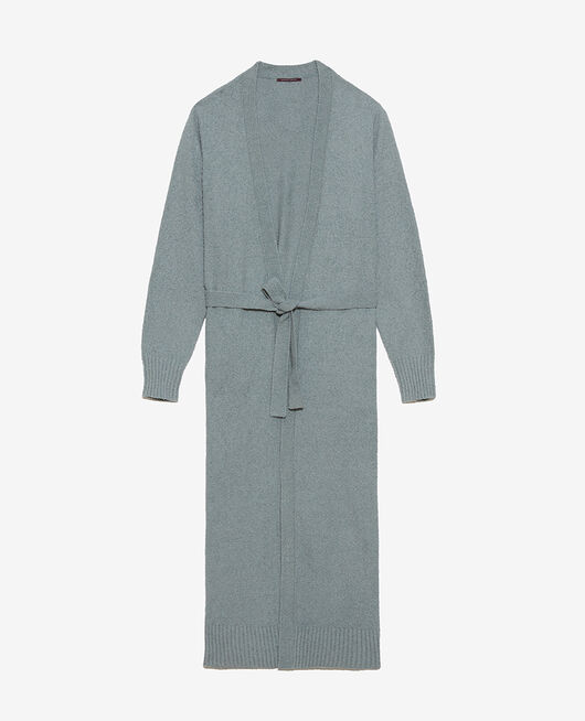 Medium-length jacket Almond green Vip