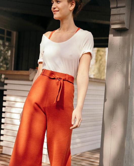 Pantalon Brun cognac Soft