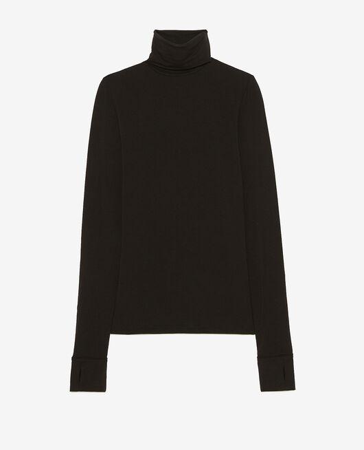 Long-sleeved t-shirt Black Heattech® lounge