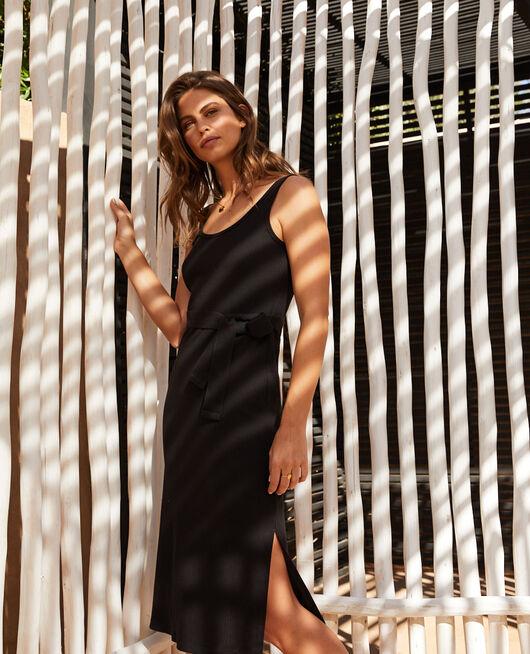 Maxi dress Black Cote a cote