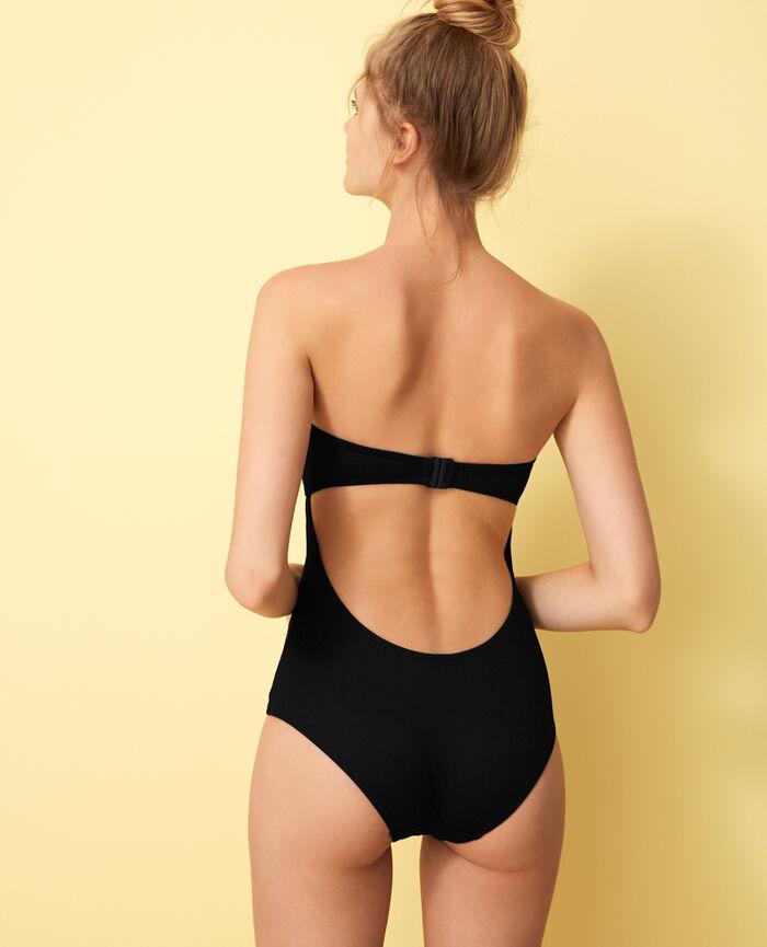 Bustier swimsuit Black Soko