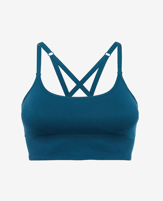 Sports bra light support Jazz blue Yoga