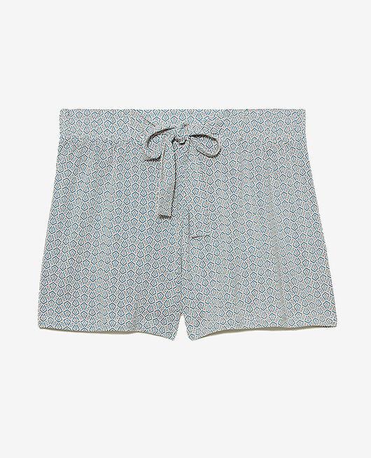 Short de pyjama Apache ivoire Tamtam shaker