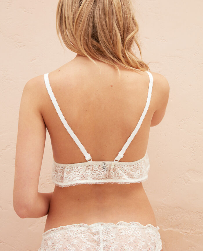 Soft cup bra Ivory Nomade