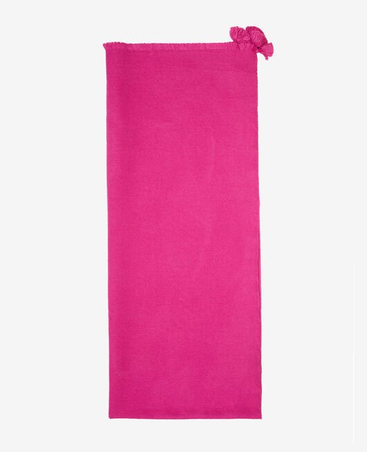 Scarf Fuchsia pink Color