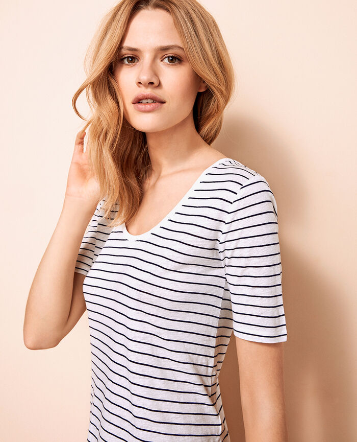 T-shirt manches courtes Multicolore Ideal