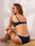 Culotte de bain bikini Bleu nuit Natte