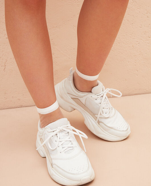 Socks White Danseuse