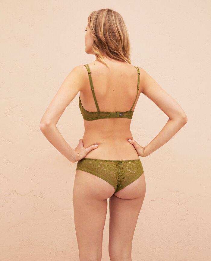 Half-cup bra Oasis green Atlas